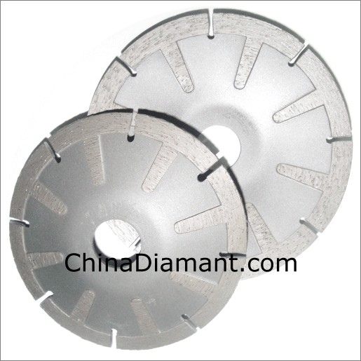 Concave Dry Cutting Saw Blade