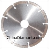 Diamond Dry Cutters Segmented