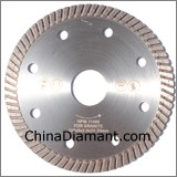 Diamond Dry Cutter Narrow Turbo Rim