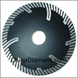 Diamond Dry Cutter Protecting Teeth