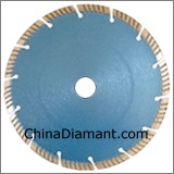Diamond Dry Cutter Segmented Turbo