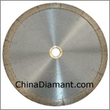 Diamond Dry Cutter Continuous Rim J-Slot