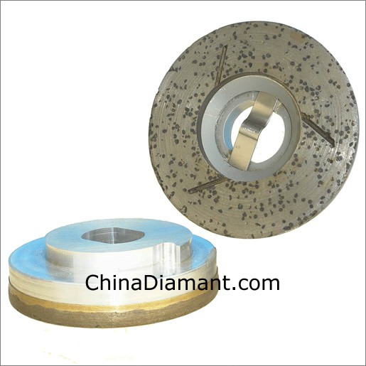 Continuous Rim Diamond Grinding Cup Wheel
