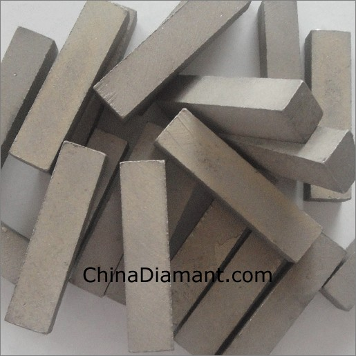 Stone polishing segments